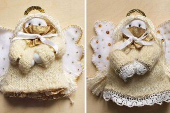 Как сшить мягкую куклу-ангела своими руками