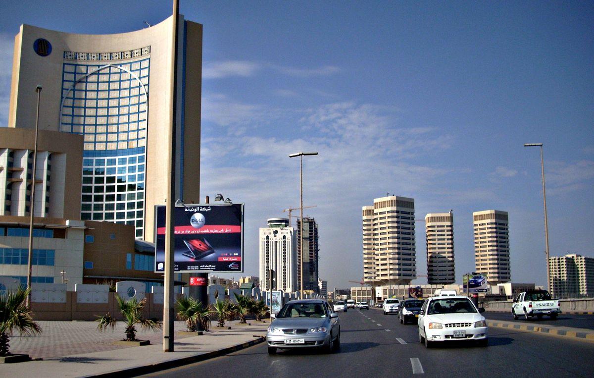 Столица Ливии - Триполи, довоенное фото