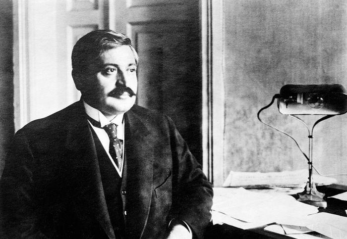 Организатор геноцида армян османский министр Мехмед Талаат-паша