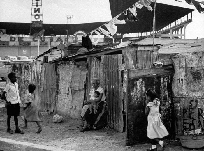 1954 год, трущобы в Гаване