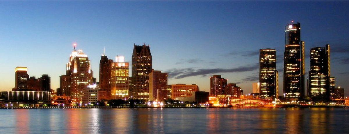 Вечерний центр Детройта