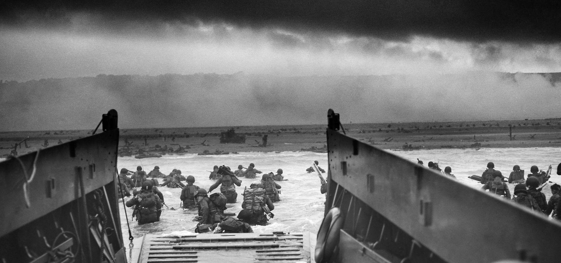 Фото высадки союзников в Нормандии