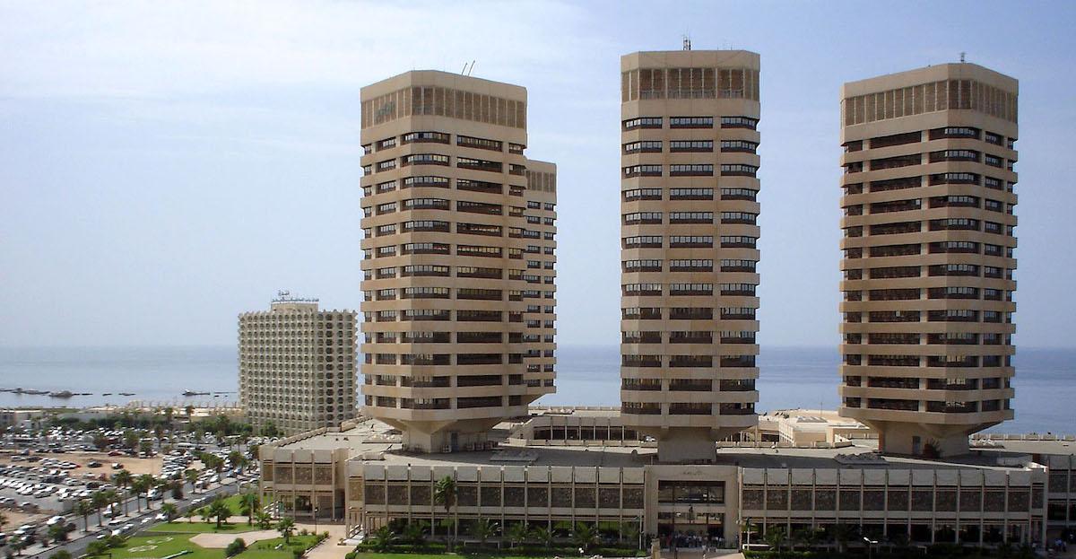 Высотки делового центра Триполи