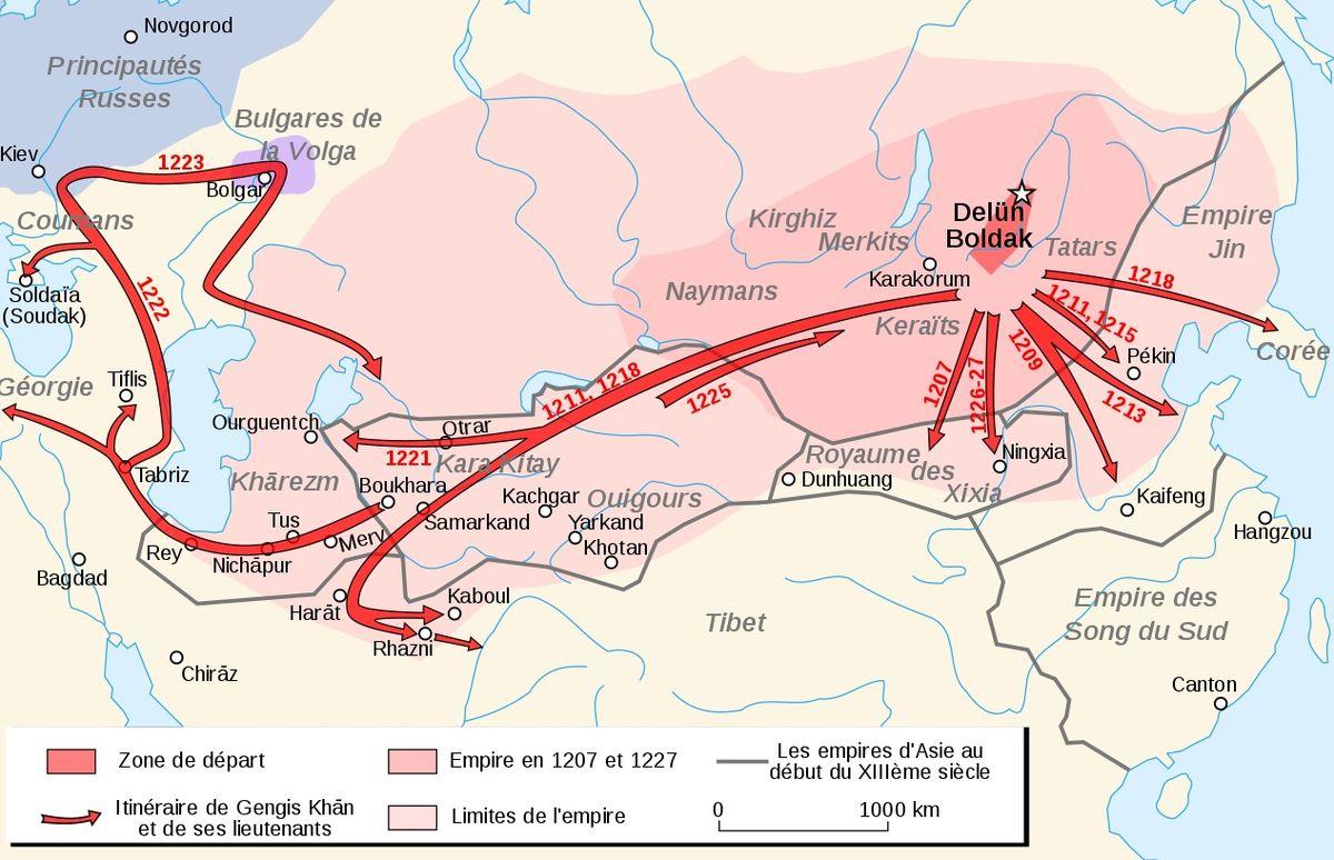 Завоевательные походы Чингисхана